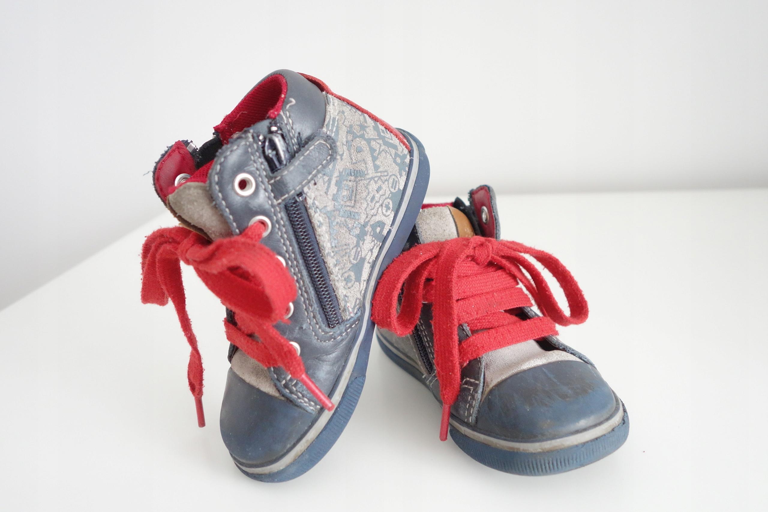 Geox sneakersy dziecięce 22 wodoodporne