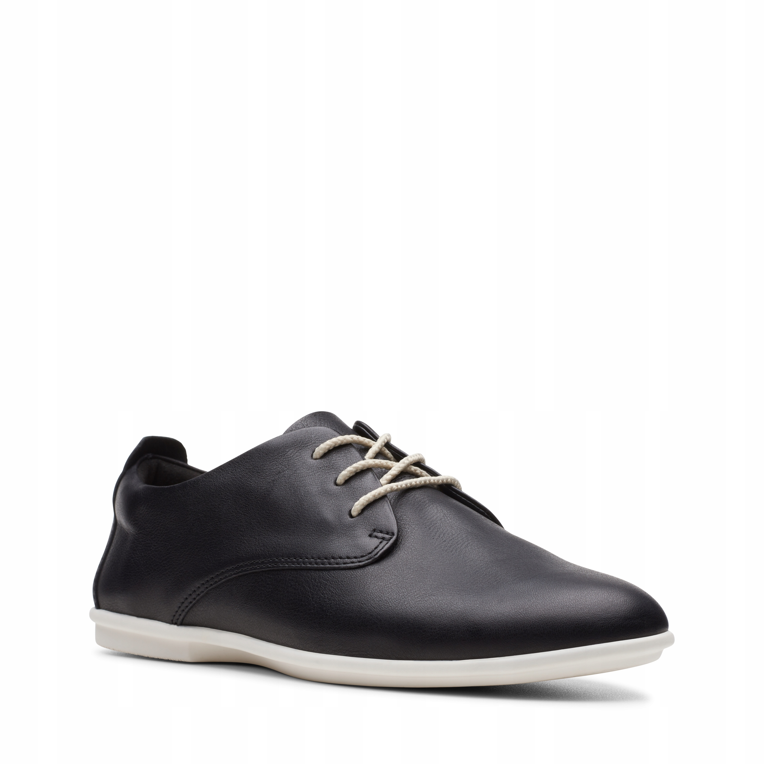 PÓŁBUTY CLARKS UN CORAL LACE Black Leather 37,5
