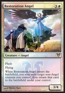 Restoration Angel PROMO FOIL