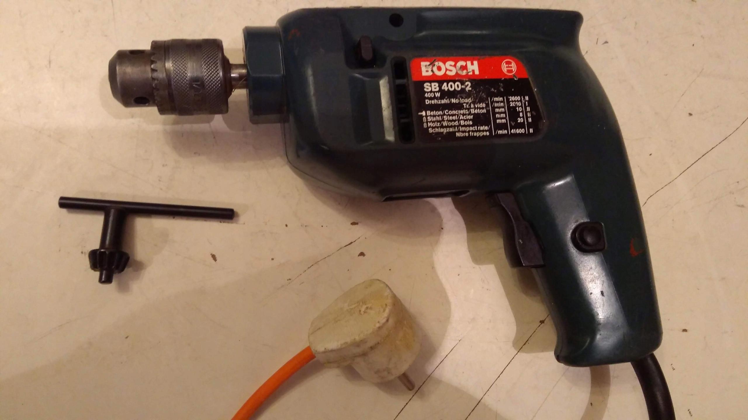 Bosch wiertarka udarowa młotowiertarka 230 V 400 W