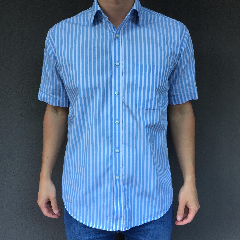 Marks & Spencer koszula paski L