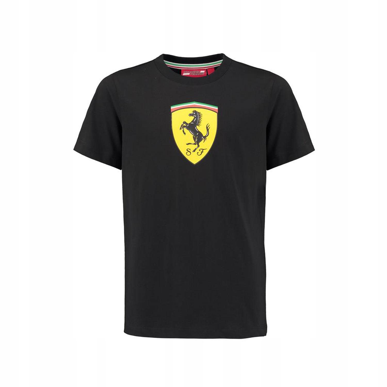 T-shirt Classic czarny Ferrari F1 128 cm (dzieci)