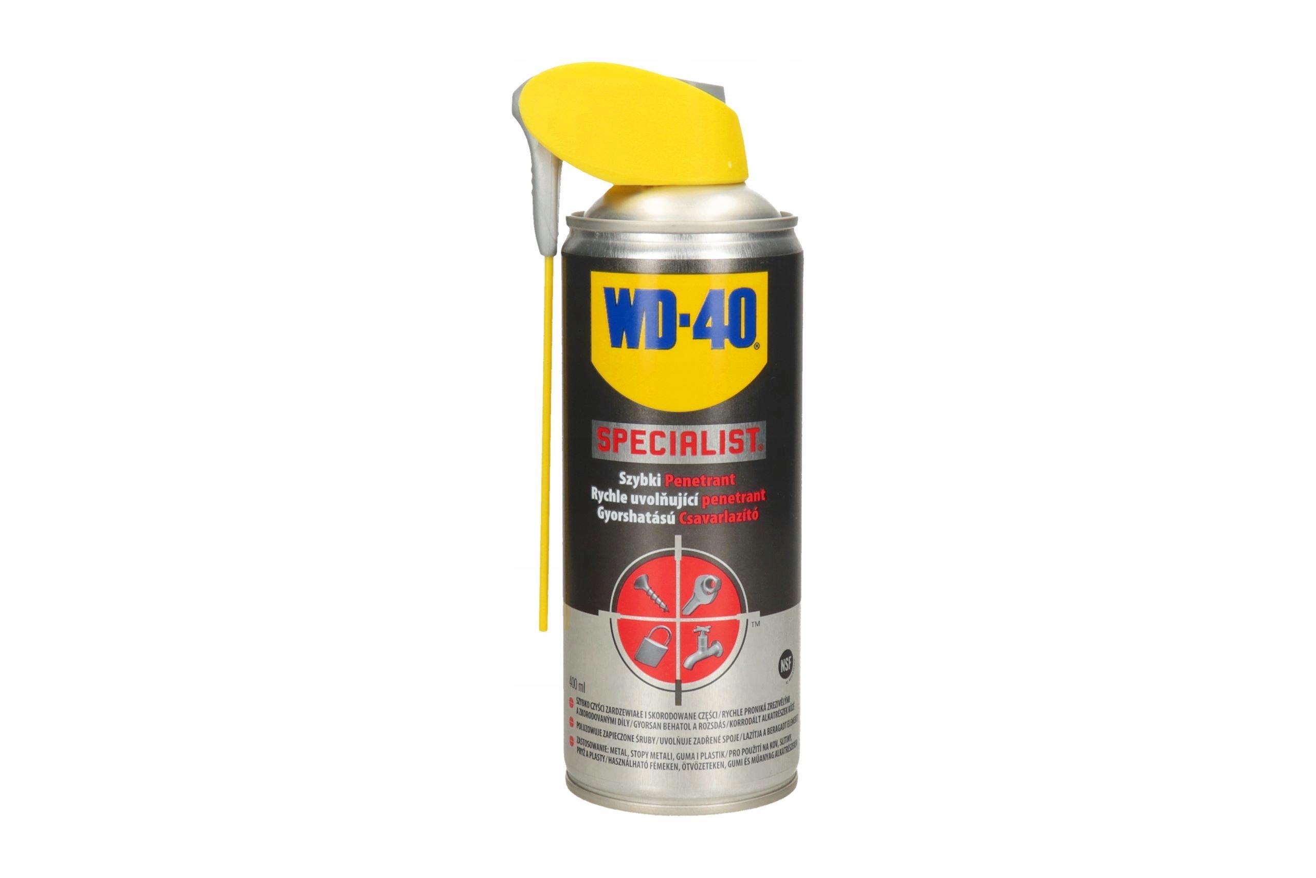 WD-40 ODRDZEWIACZ DO ŚRUB ODKRĘCA ŚRUBY 0.4 L