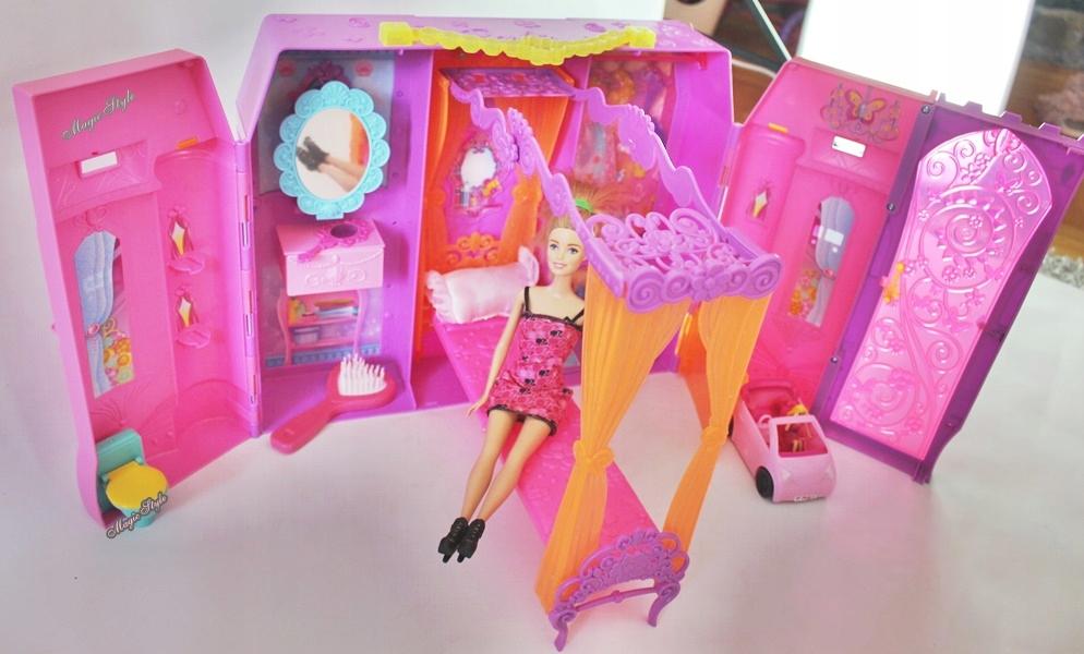 Mattel Barbie Bajkowy Rozkładany Domek Księżniczki