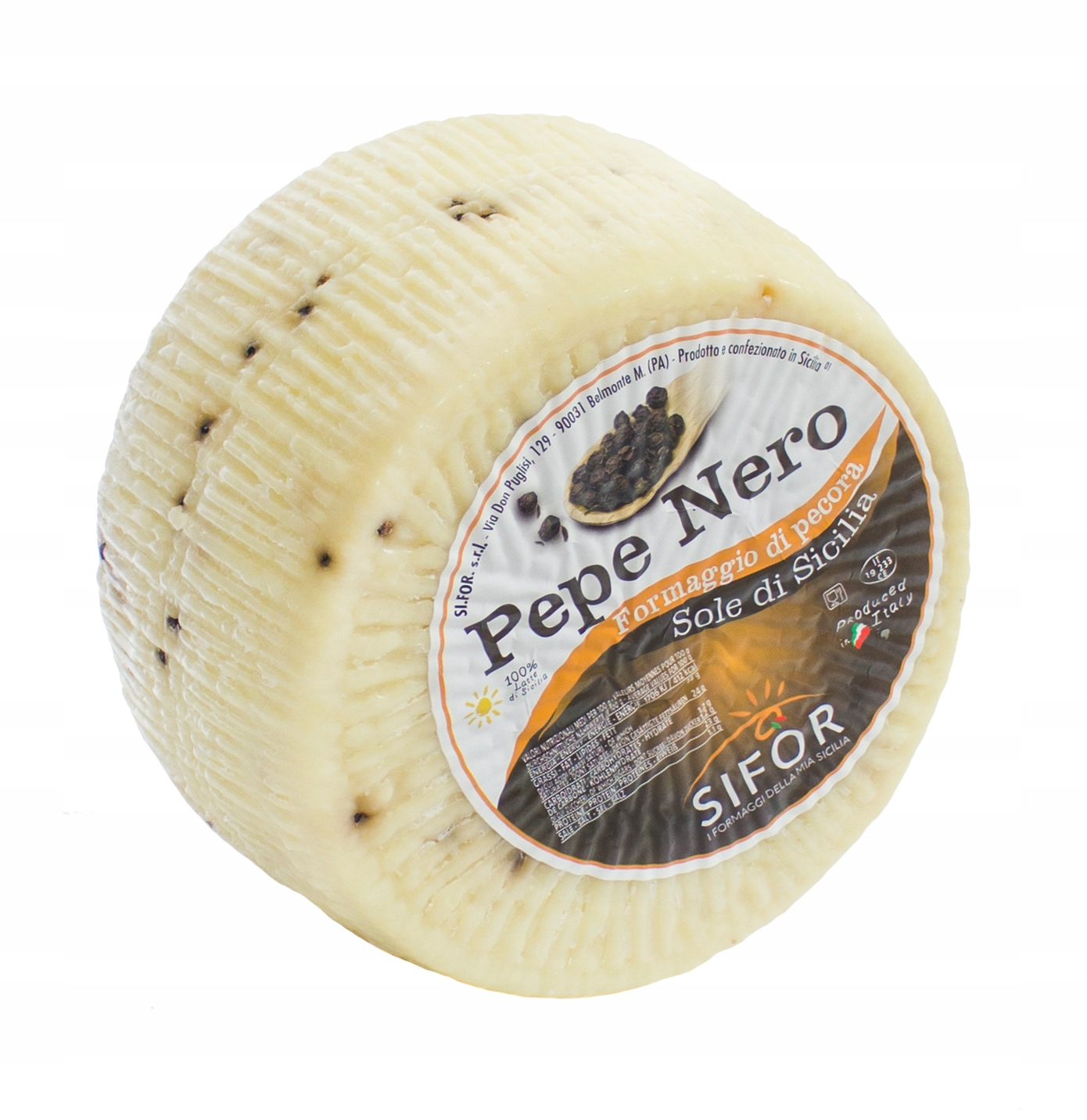 PECORINO PEPE NERO ser owczy z Włoch 0,262 kg