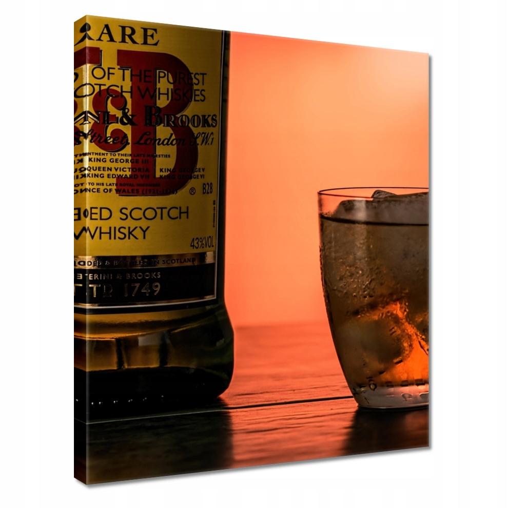 Obrazy na płótnie 40x50 Whiskey