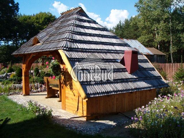 Gontbudpl Altana Garaż Altanka Gonty Drewniane 7838113767
