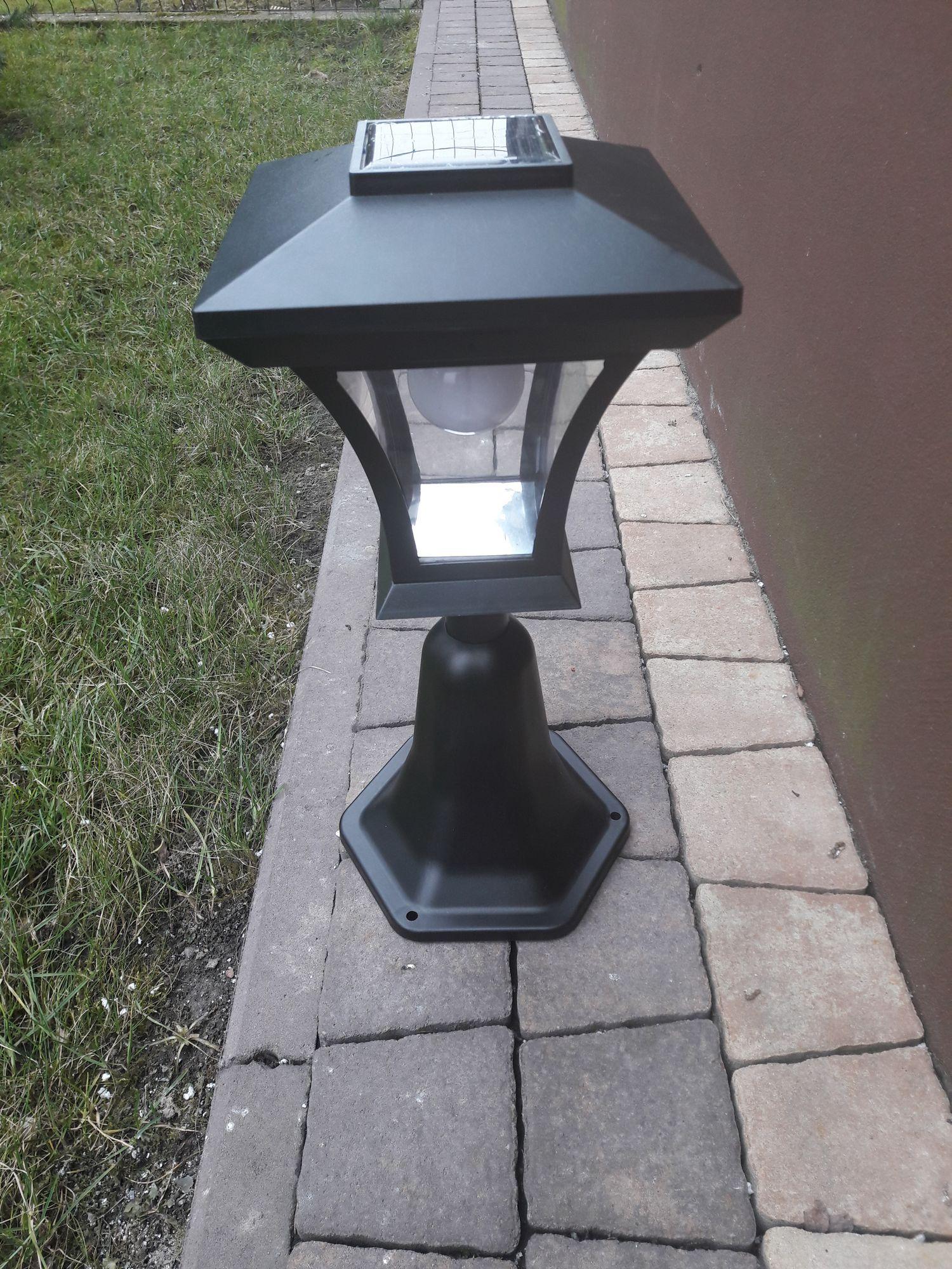 Lampa Solarna Znicz Solarny Nagrobkowa Wys 46cm