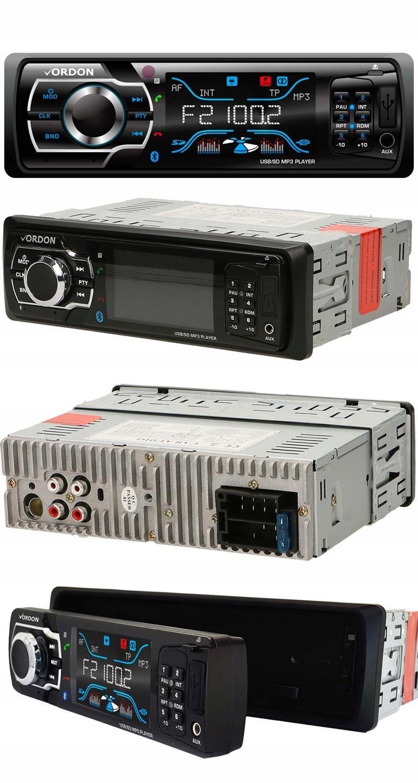 Radio Samochodowe Vordon HT-896B - Bluetooth/MP3/U