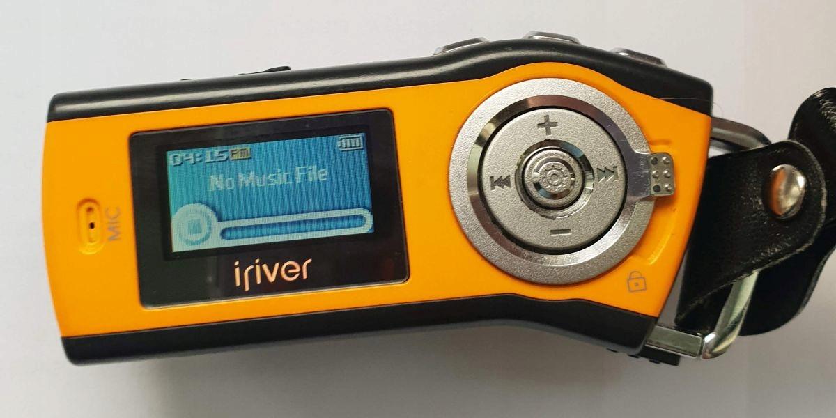 IRIVER T10 1GB - JAK NÓWKA!!!