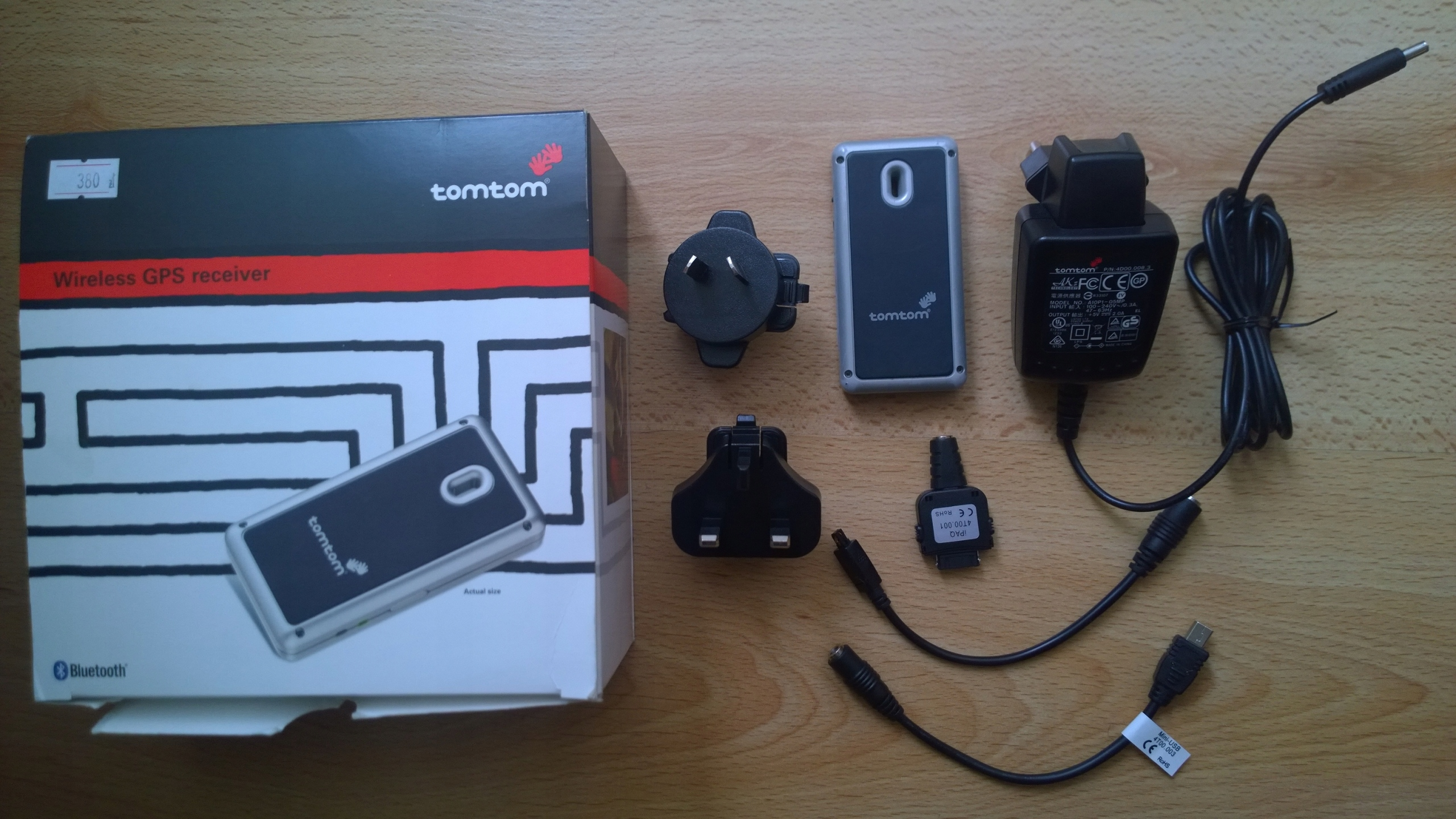 Tomtom odbiornik GPS bluetooth wireless