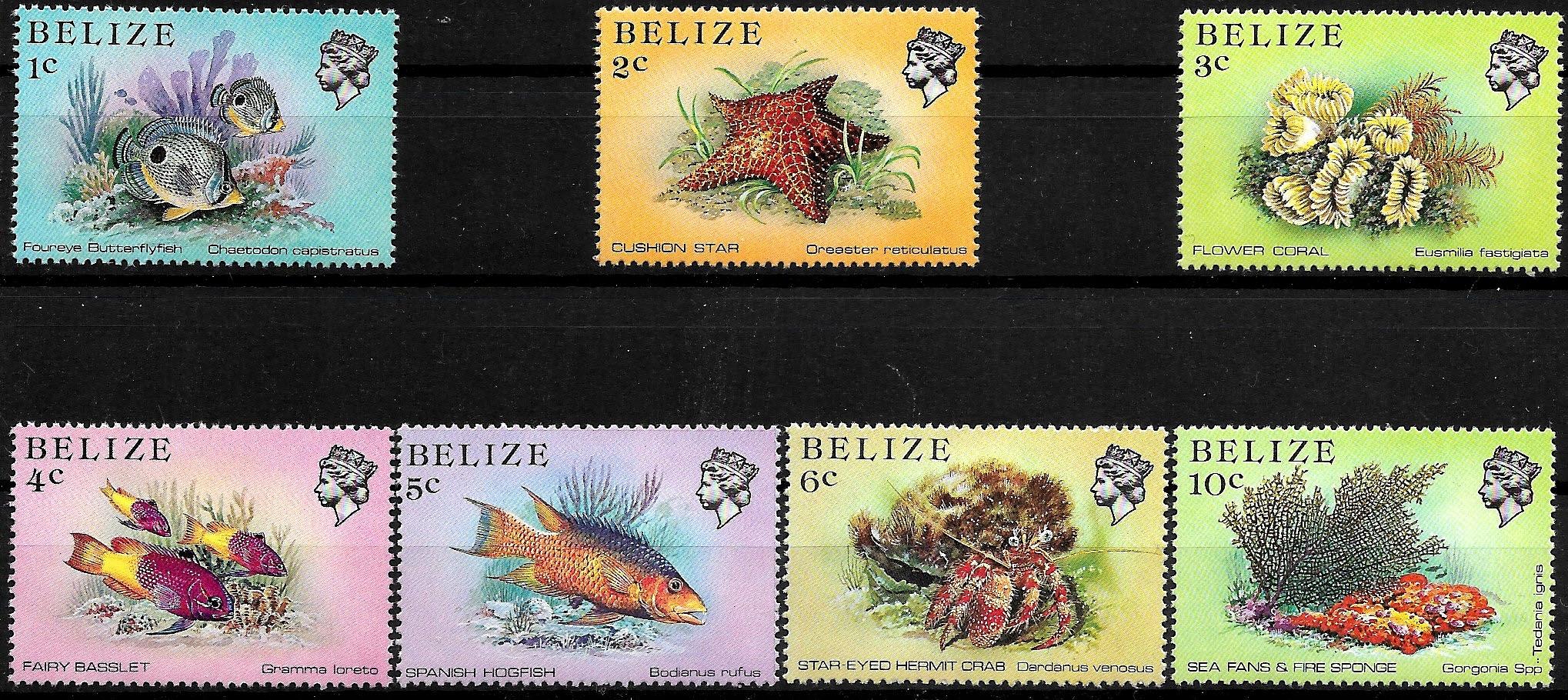 FAA002 1984 FAUNA morska zn.** Belize