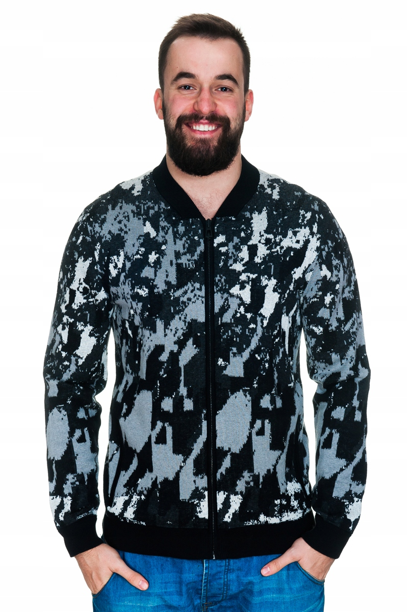 CALVIN KLEIN Sweter Kardigan XL XXL 13542 SOPOT