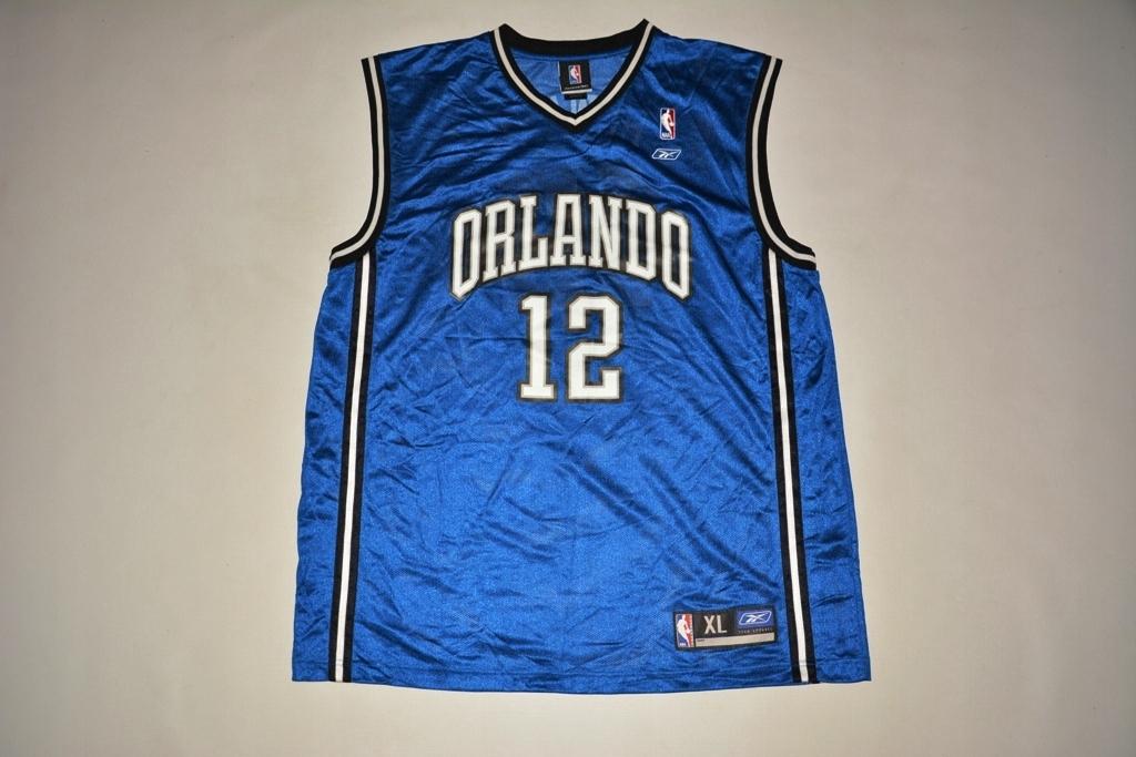 NBA ORLANDO MAGIC HOWARD 12 REEBOK XL ORYG.