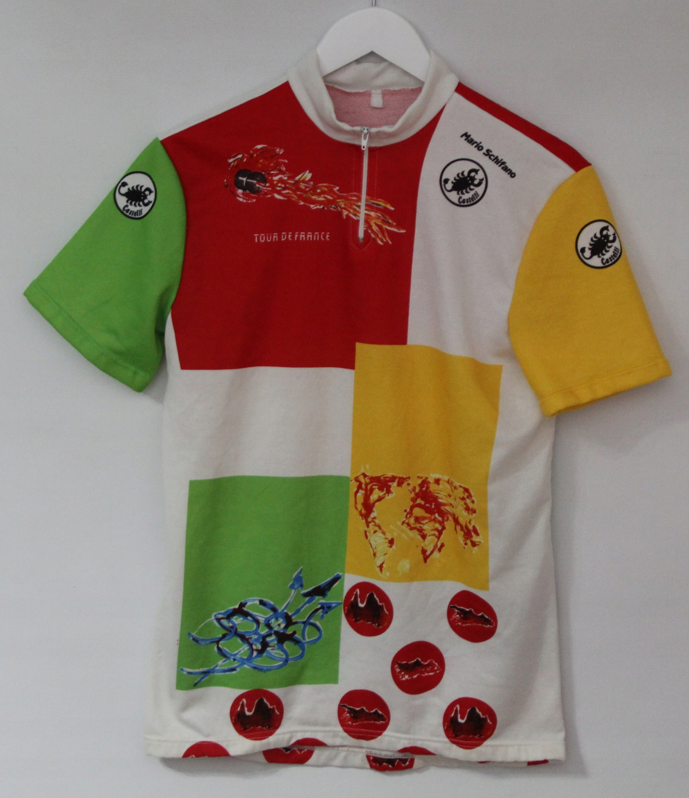 CASTELLI Mario Schifano Tour De France 1989
