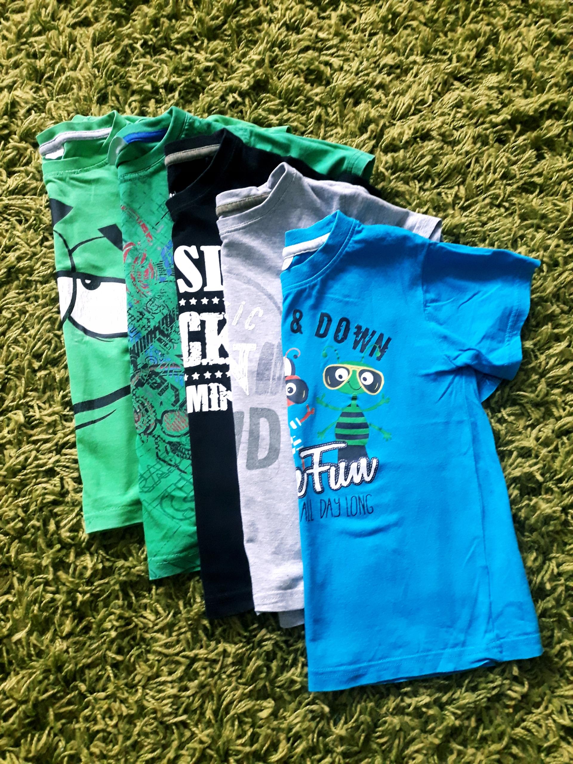 T-shirty 122-128