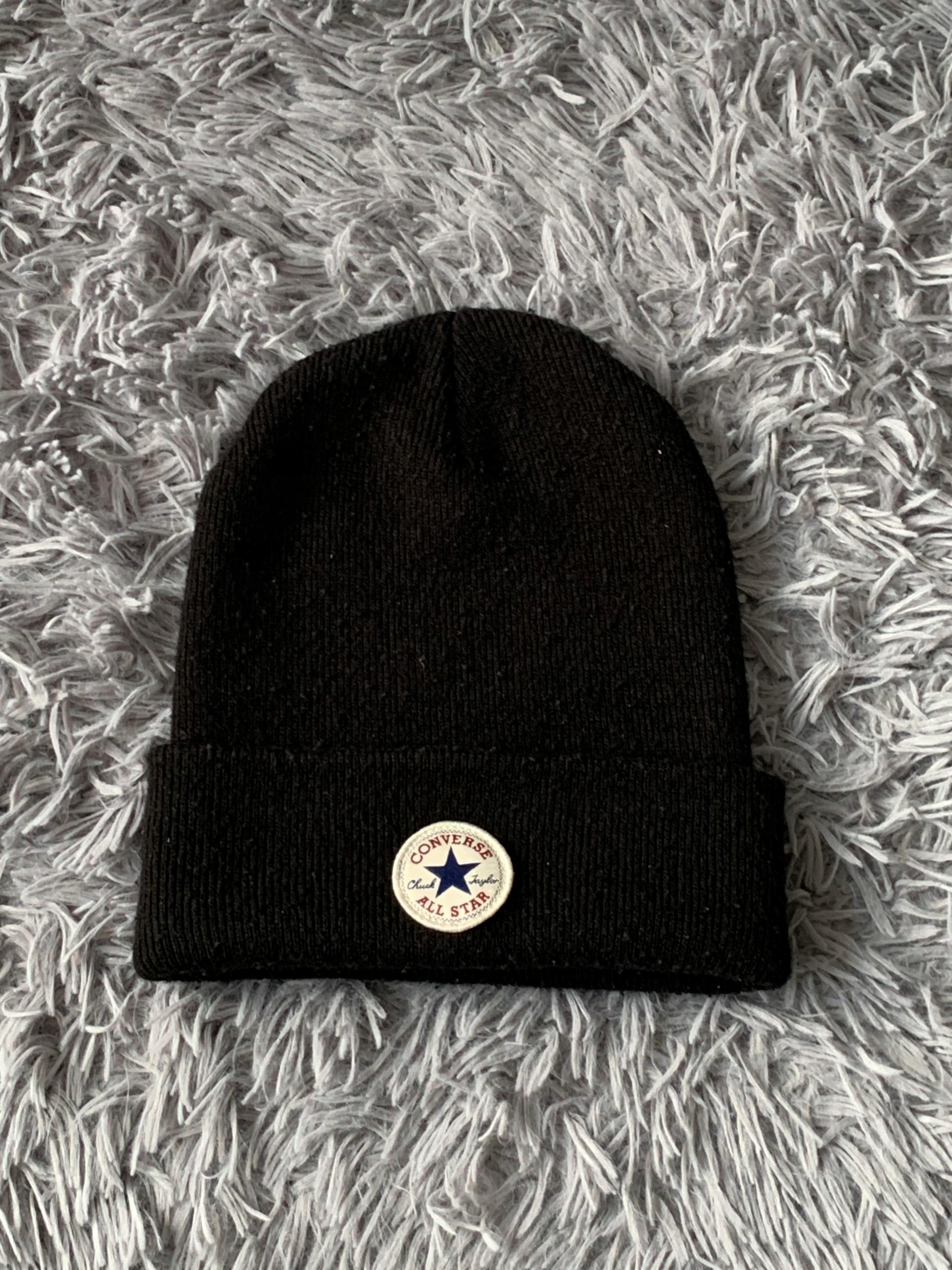 Zimowa wełniana czapka converse unisex