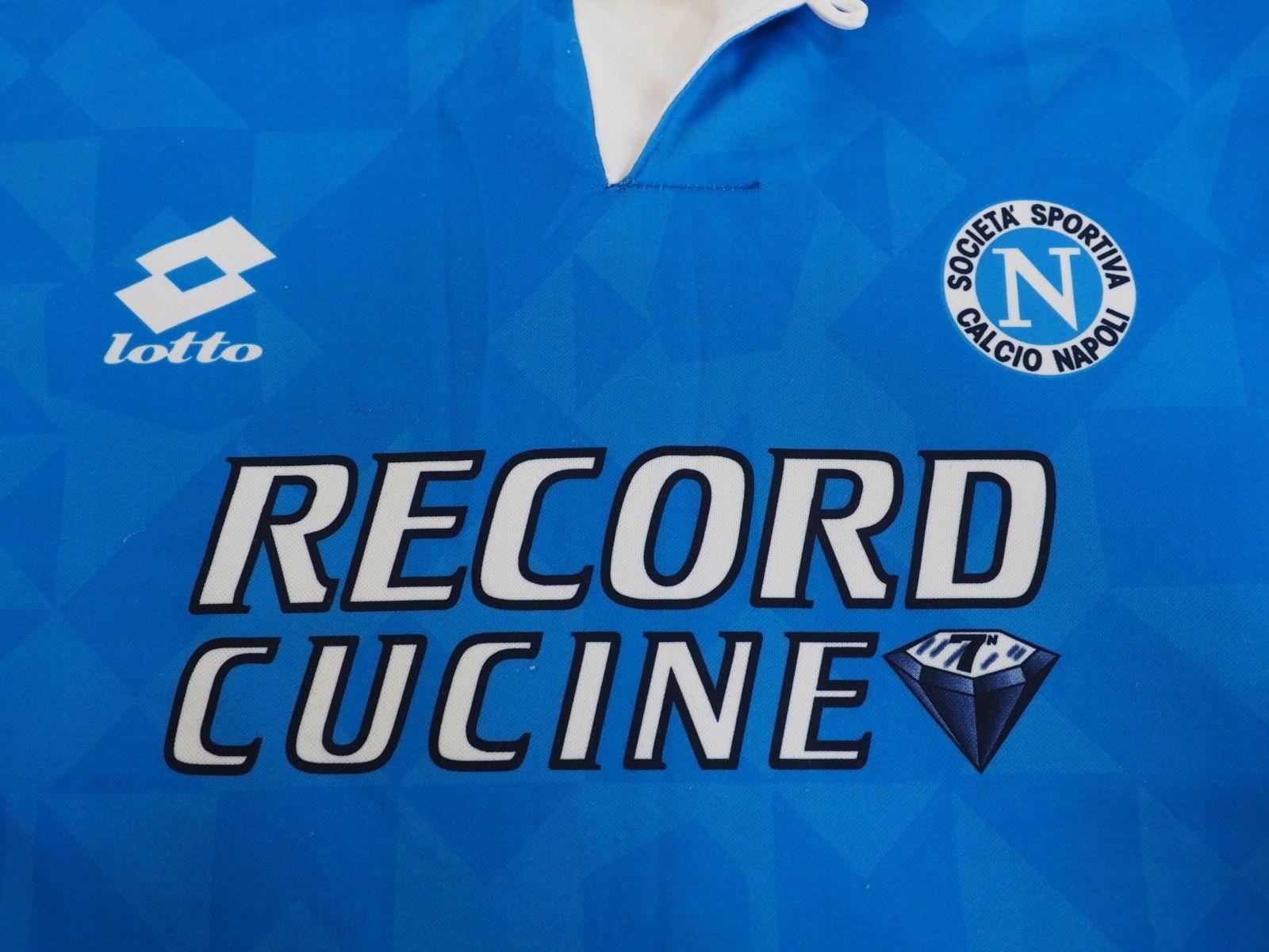 SSC Napoli Football 1994/1995 roz L Lotto RETRO