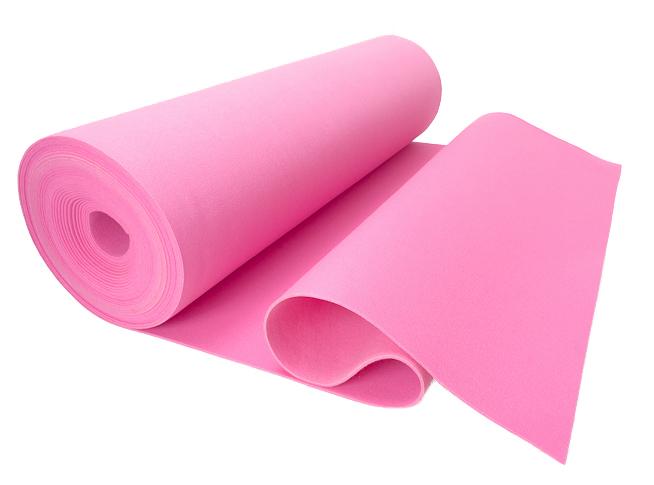 Filc RÓŻOWY PREMIUM na torebki 4 mm 600 g/m2