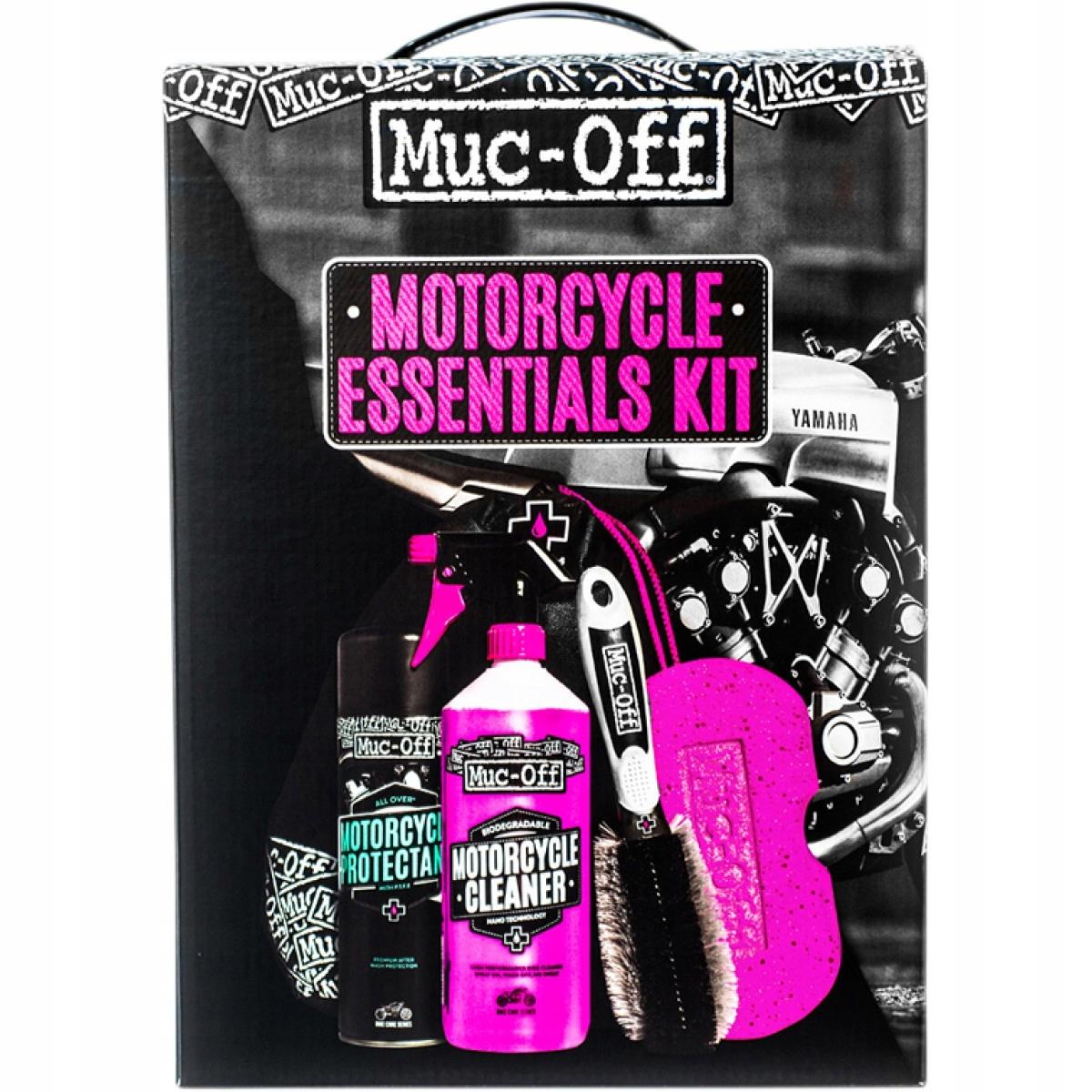Zestaw Muc-Off do czyszczenia i pielęgnacji motocy