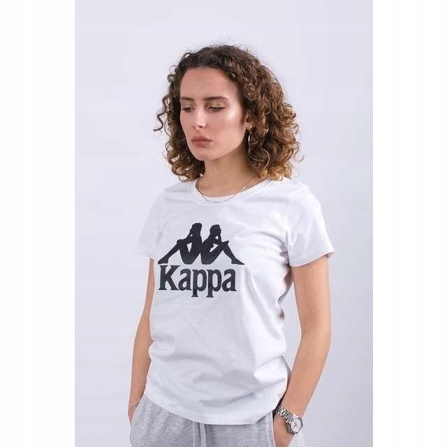 T-shirt Koszulka Damska Kappa bawełna biała XS 34