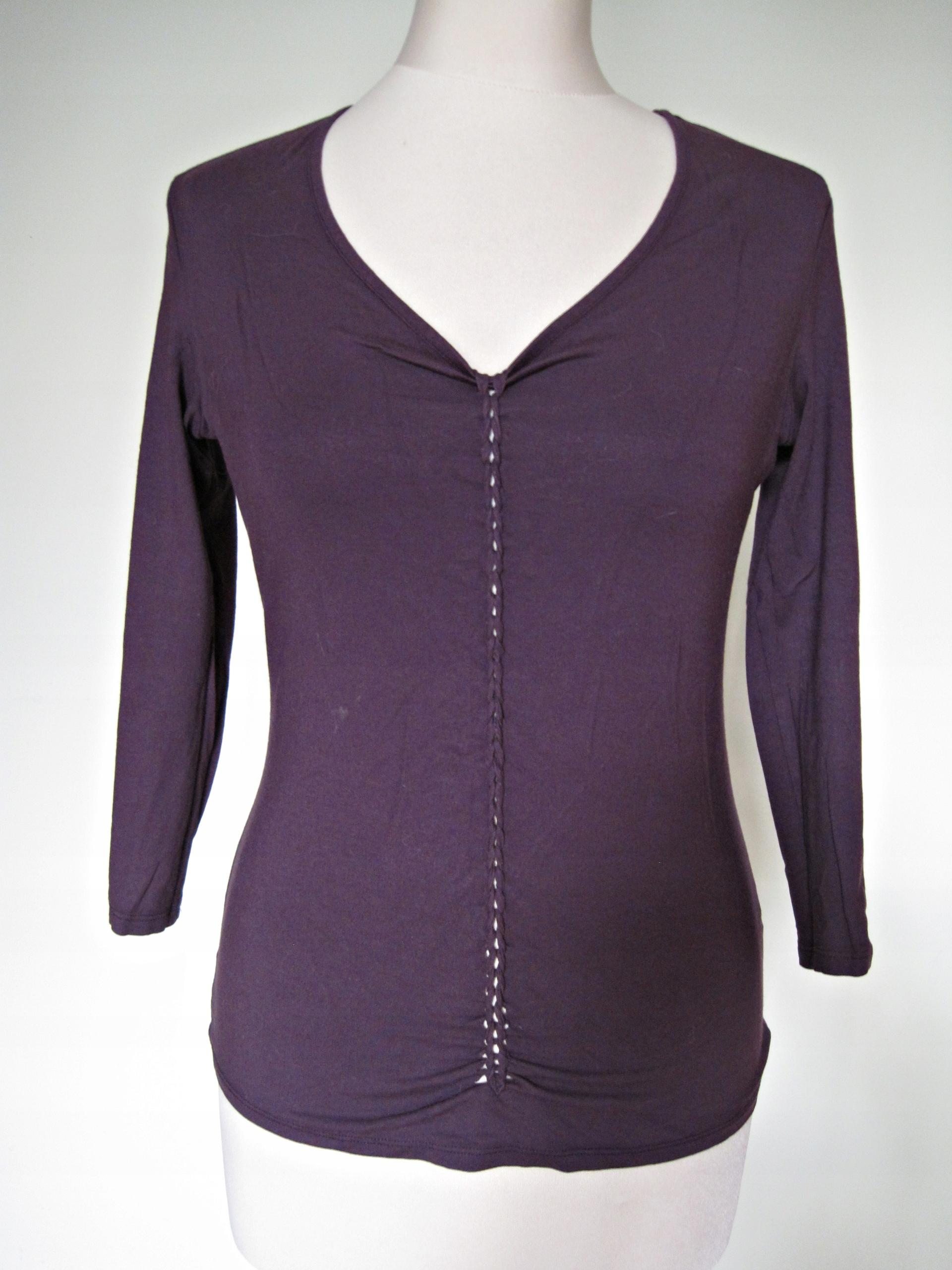 Unikatowa bluzka fiolet rozm. 36
