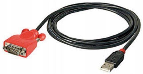 Konwerter USB na RS232 9-pinowy Lindy 42811