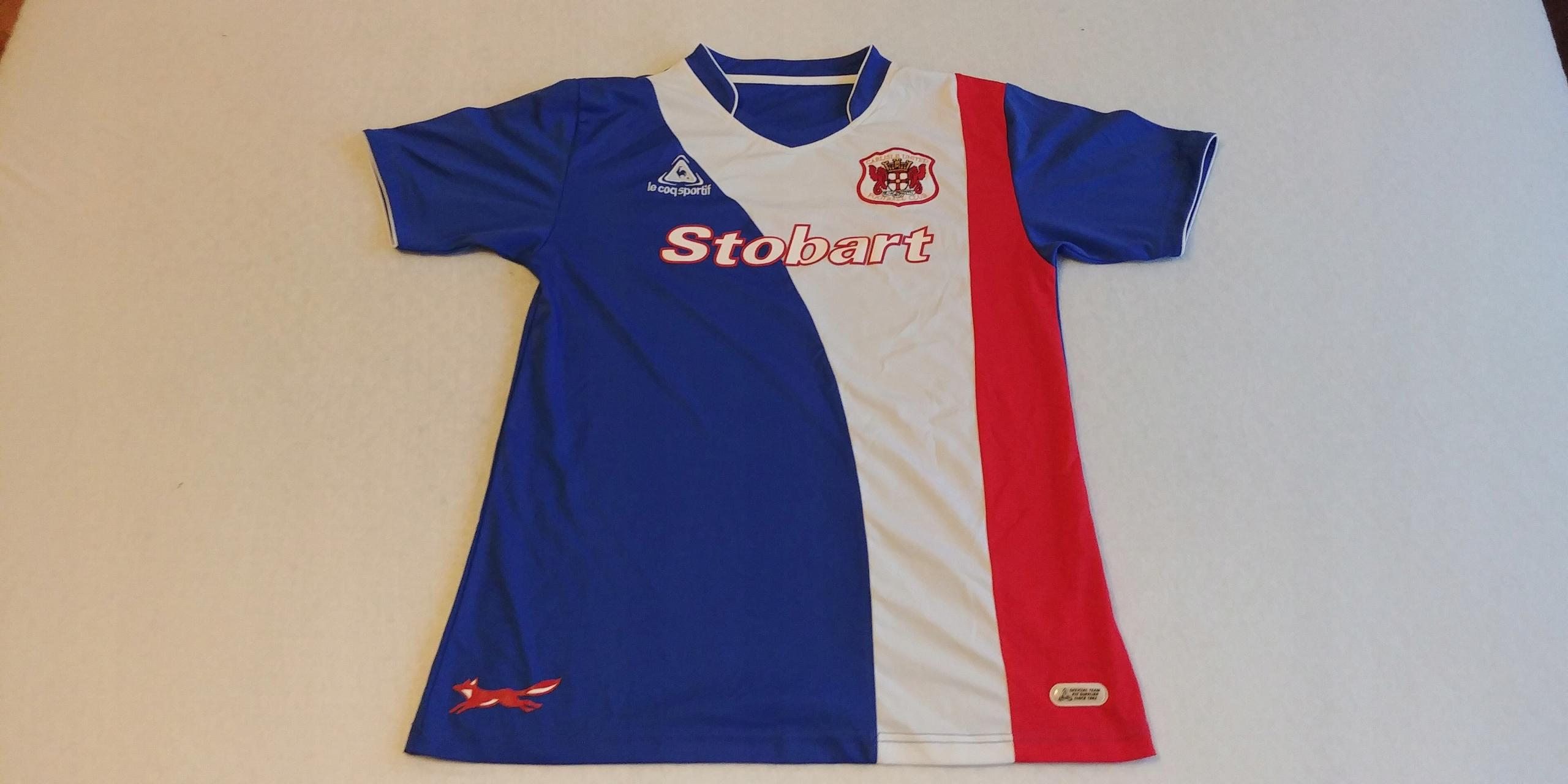 Koszulka Carlisle United 2007/2009 Le Coq Sportif