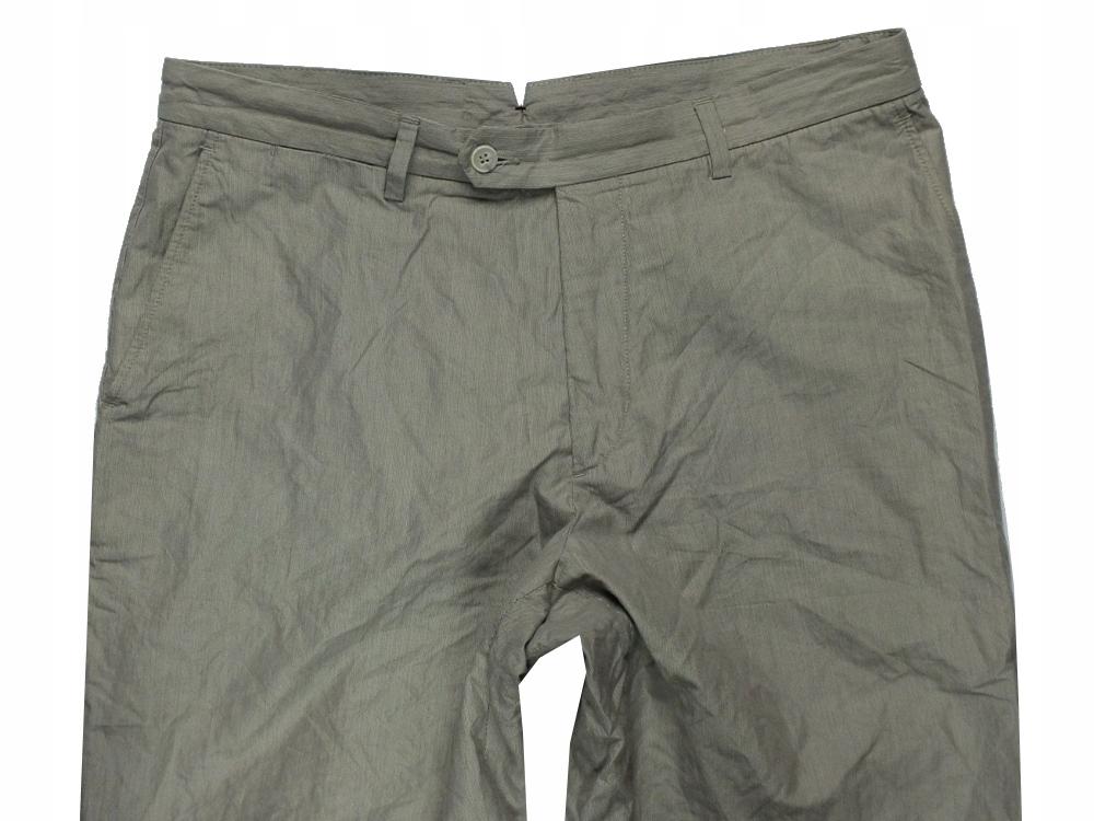 . MASSIMO DUTTI * 44/34 *męskie spodnie paski *001