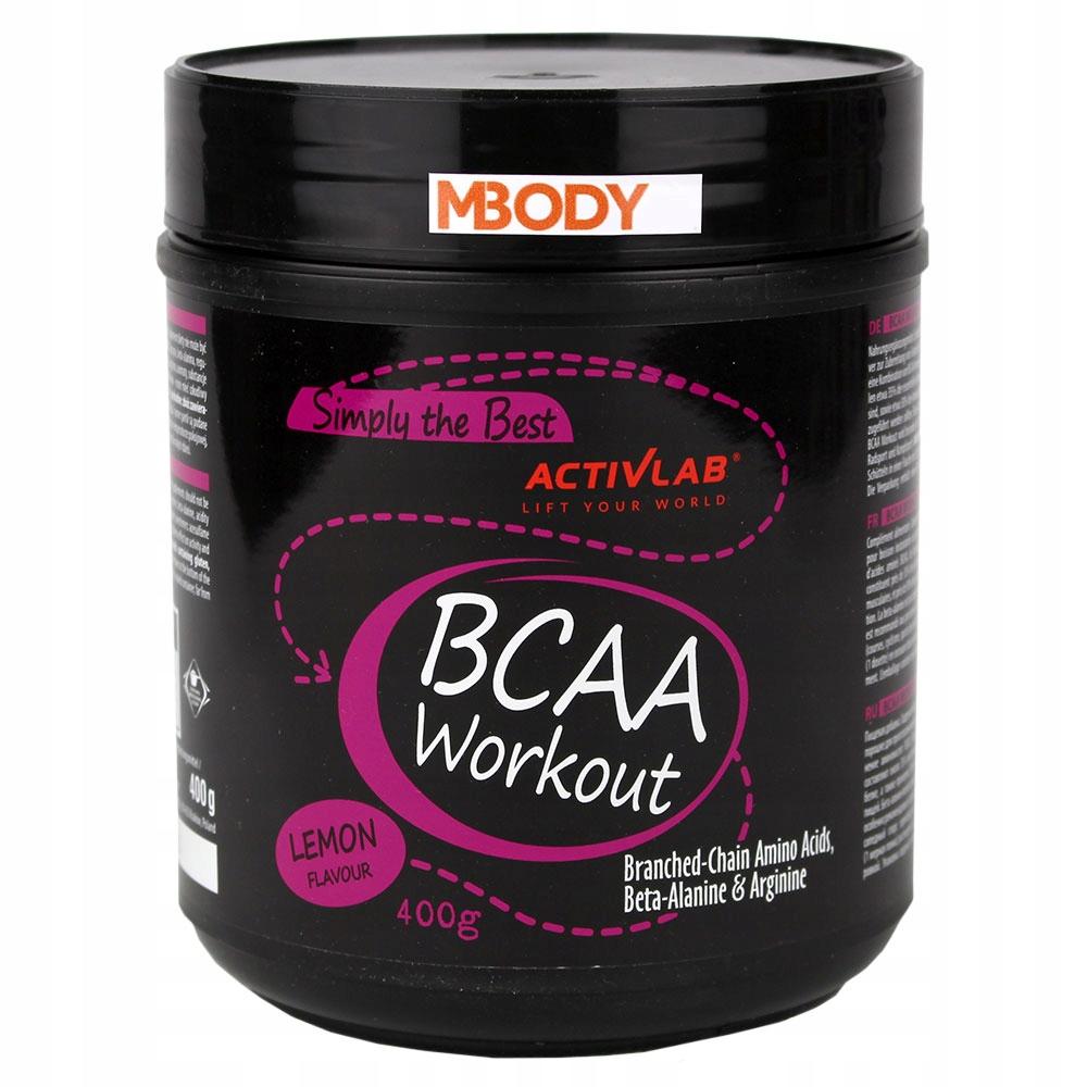 ACTIVLAB BCAA WORKOUT 400G AMINOKWASY + ARGININA