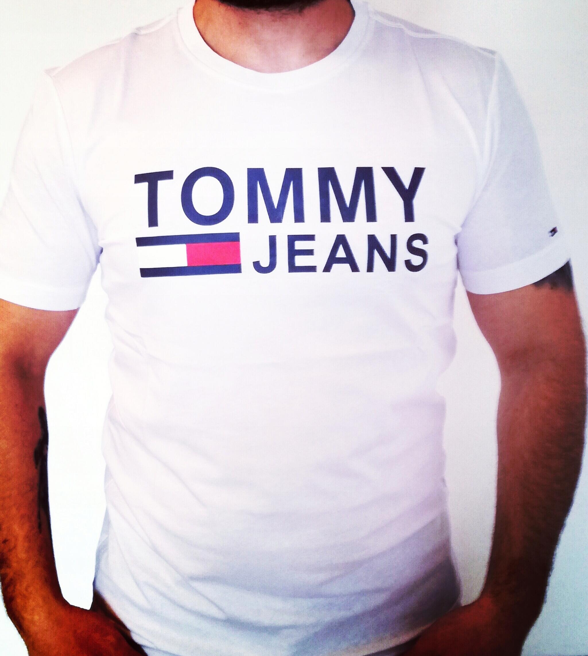 Koszulka męska T-Shirt TOMMY HILFIGER r S bluzka