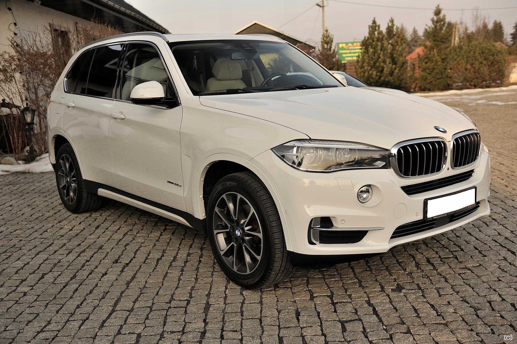 BMW X5 F15 35d Faktura Vat, ACC, Night Vision