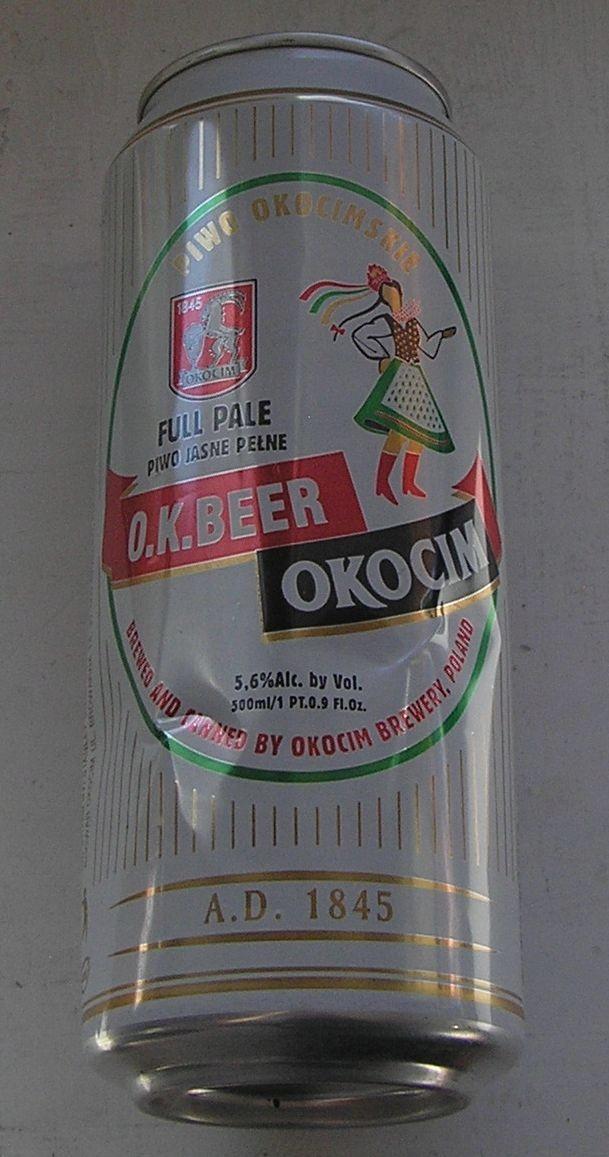 PUSZKA PIWO OKOCIM O.K. BEER CHICAGO