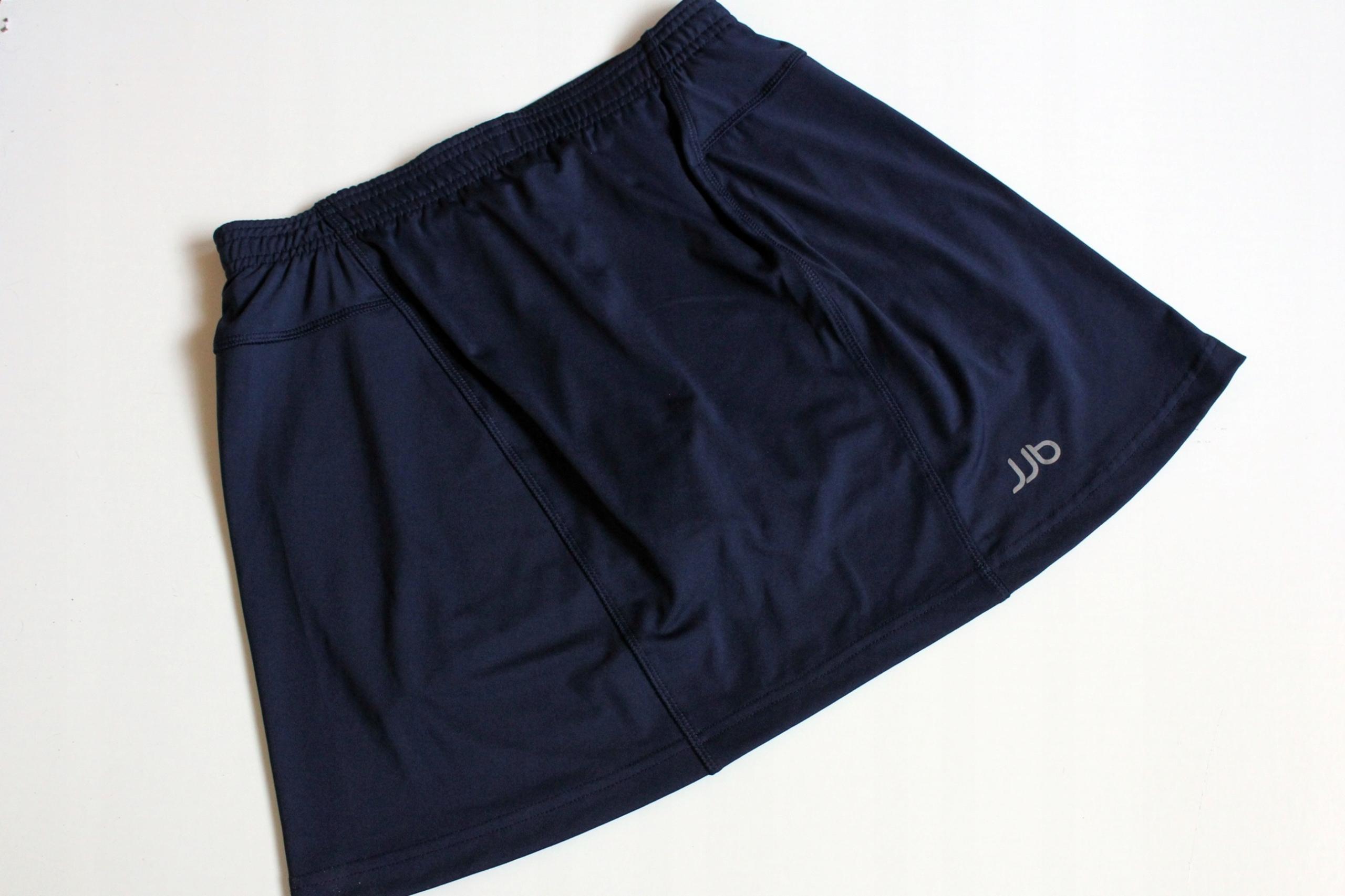 Sportowa spódnica ze spodenkami granatowa