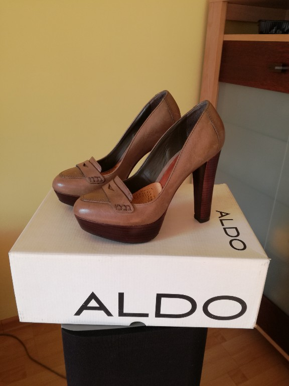 Aldo półbuty ze skóry 35