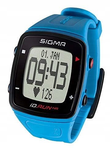 Zegarek do biegania GPS Sigma Sport ID.Run BLUE