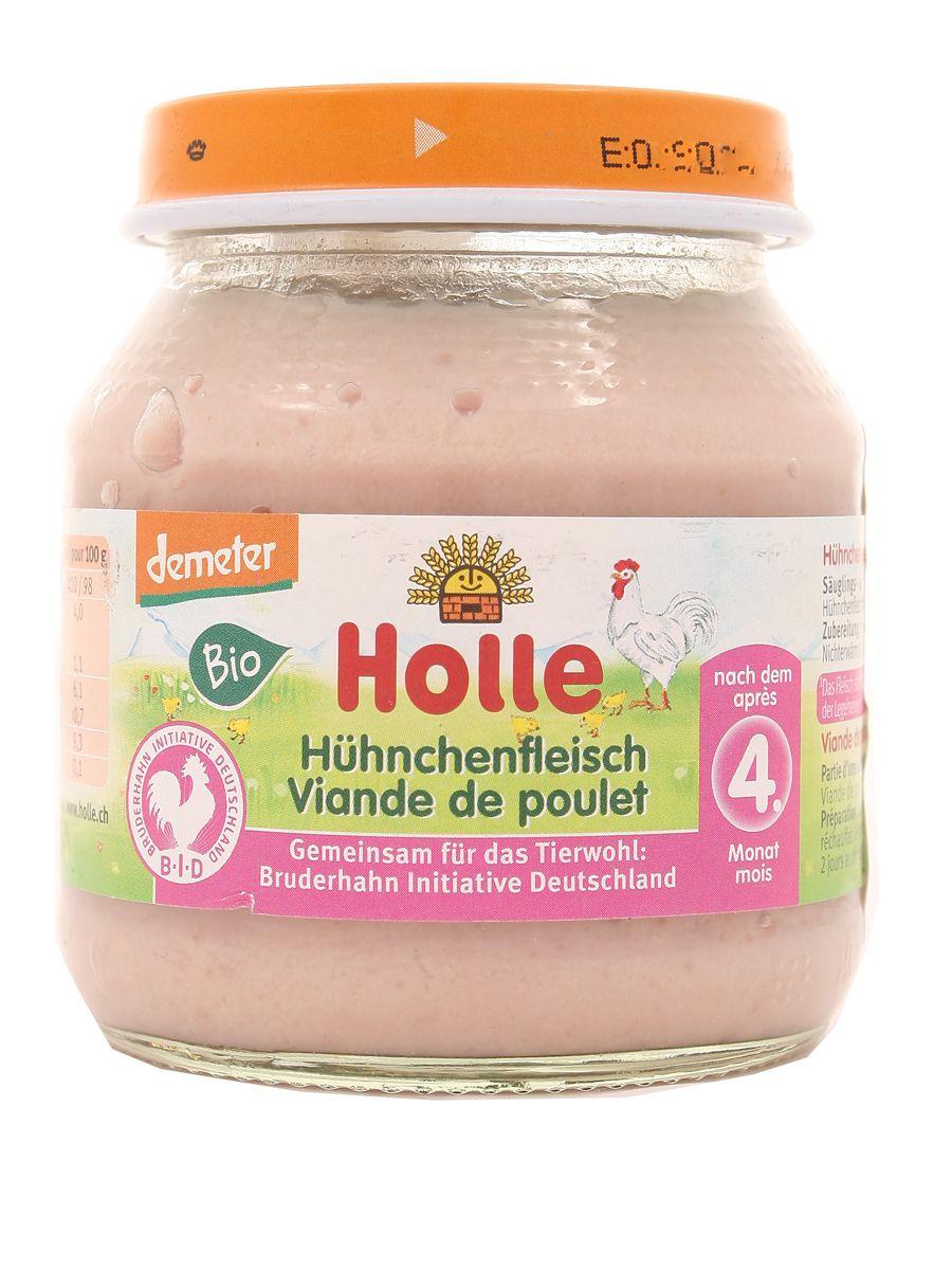 Mięso z kurczaka BIO od 4 miesiąca życia - Holle -