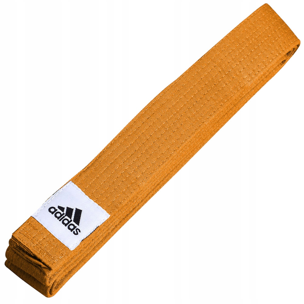 Pasy, Pas Do Judo Adidas Pomarańczowy 220 cm