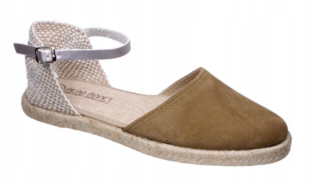 Sandały damskie Pilar Monet 24151 R. 37