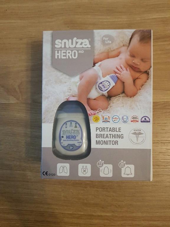 Monitor oddechu Snuza Hero MD, Baterie + Gwarancja