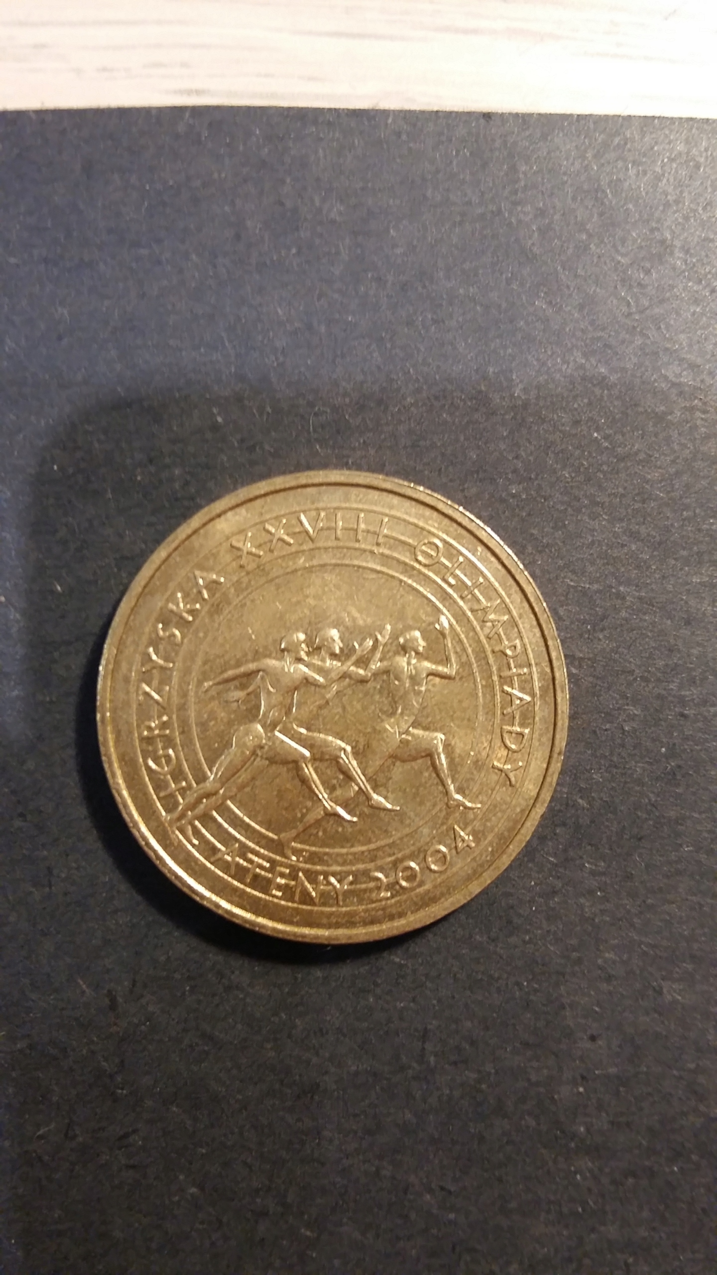 2 zł OKOLICZNOŚCIOWE - Igrzyska Ateny 2004