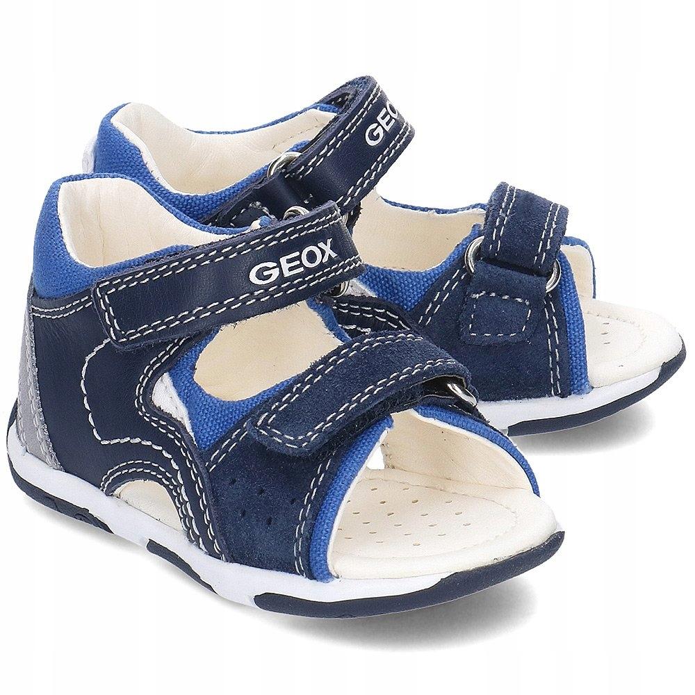 GEOX Baby Tapuz Granatowe Buty R.23