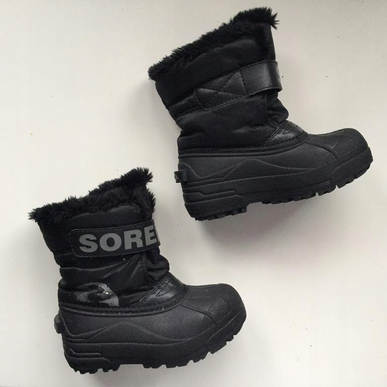 Śniegowce buty zimowe dziecięce Sorel 17cm