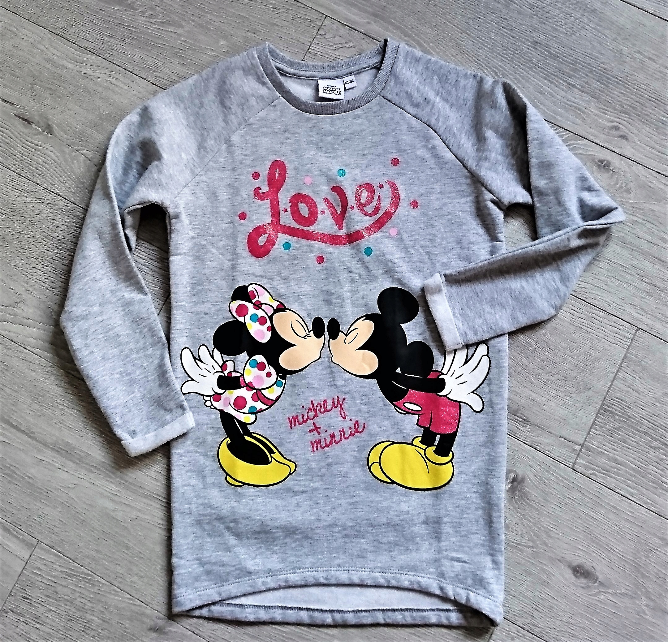 TUNIKA ''MICKEY& MINNIE''122/128