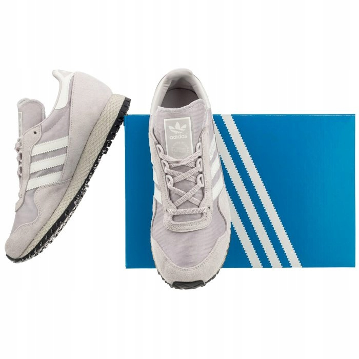 56dc74f9049cd Buty Damskie Sportowe adidas New York BB2739 Szare - 7570967900 ...