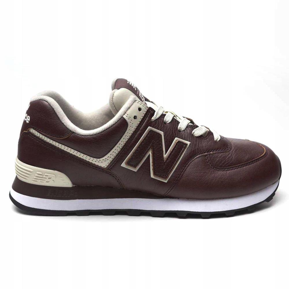 Buty New Balance ML574LPB brązowe sneakersy 42,5