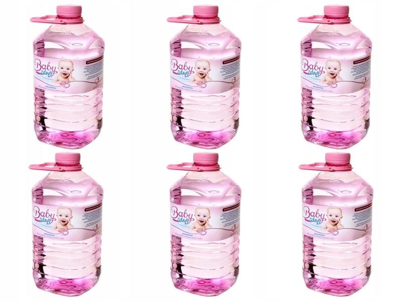 BABY ZDRÓJ Woda źródlana niegazowana dzieci 6x 3L