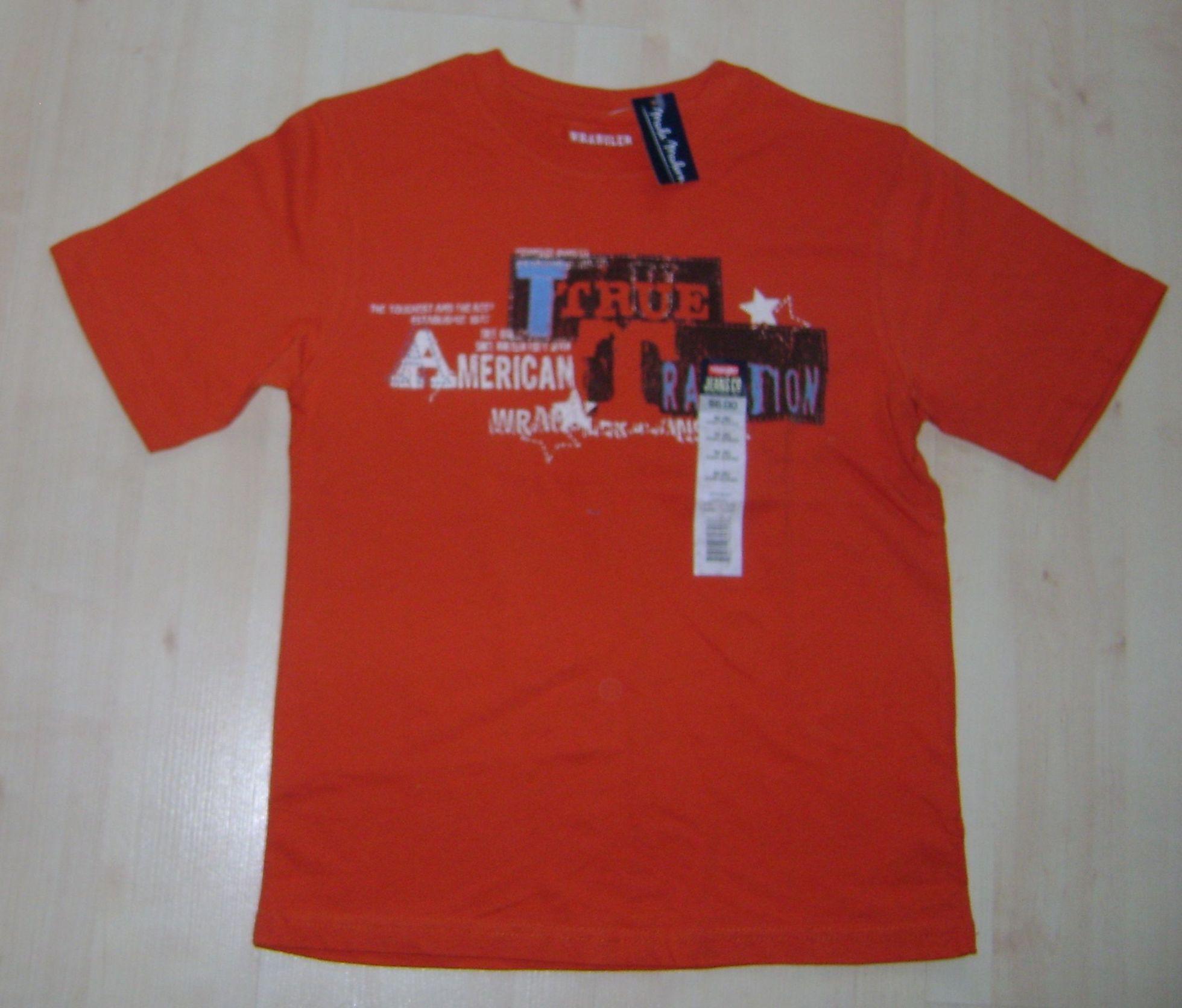 NOWA oryginalna WRANGLER koszulka t-shirt roz 140