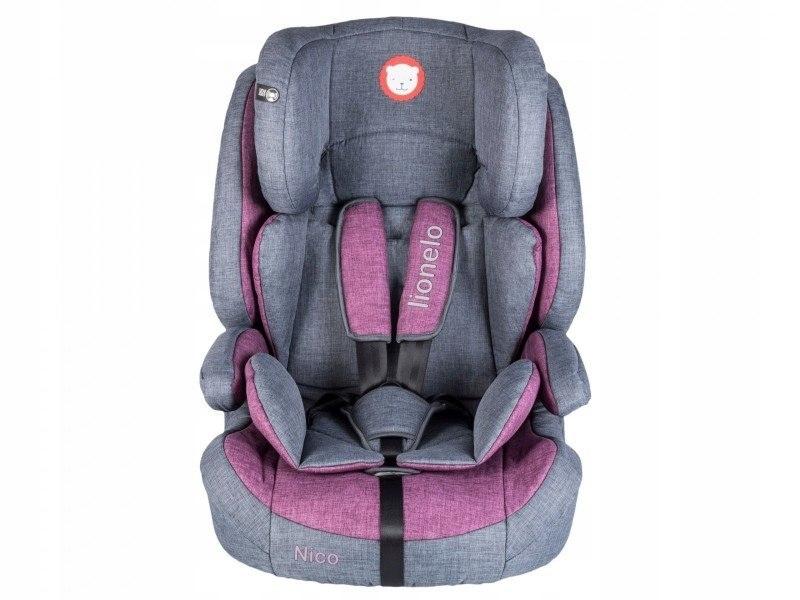 Fotelik 9-36 kg Nico violet