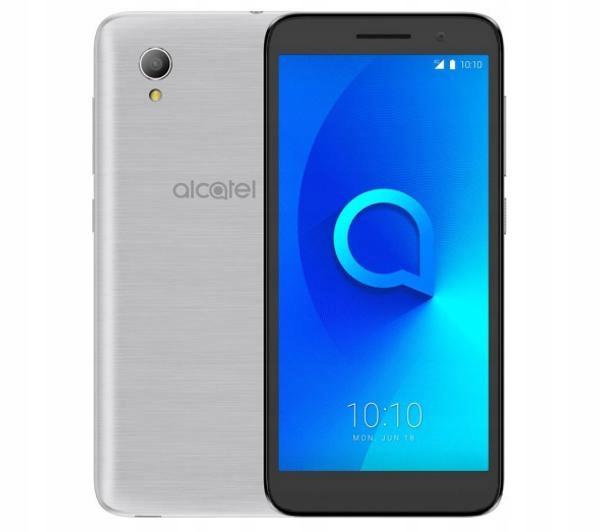 SREBRNY Smartfon ALCATEL 1 Dual SIM 5033D do 32 GB